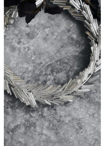Krans Circle   zilver