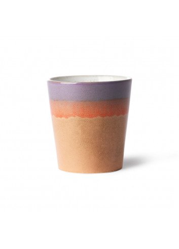 Ceramic 70's Koffiebeker | sunset