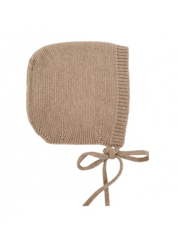 Bonnet dolly - sand - S
