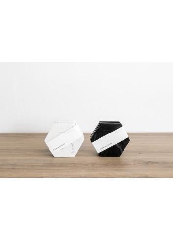Marmeren Onderleggers Dalbane (set van 4) | zwart