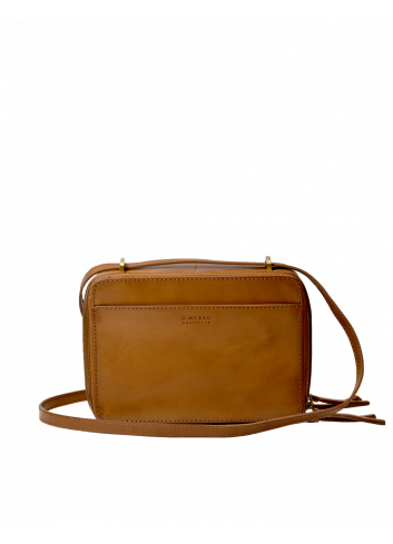 Handtas Bee's Box Bag | cognac classic leather