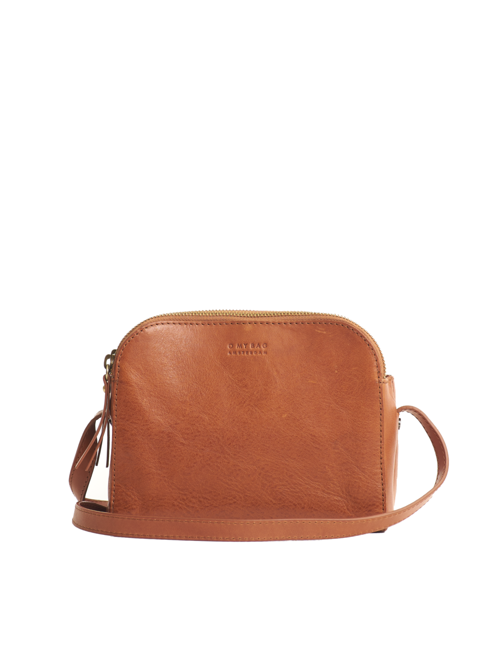 Handtas Emily | cognac stromboli leather strap