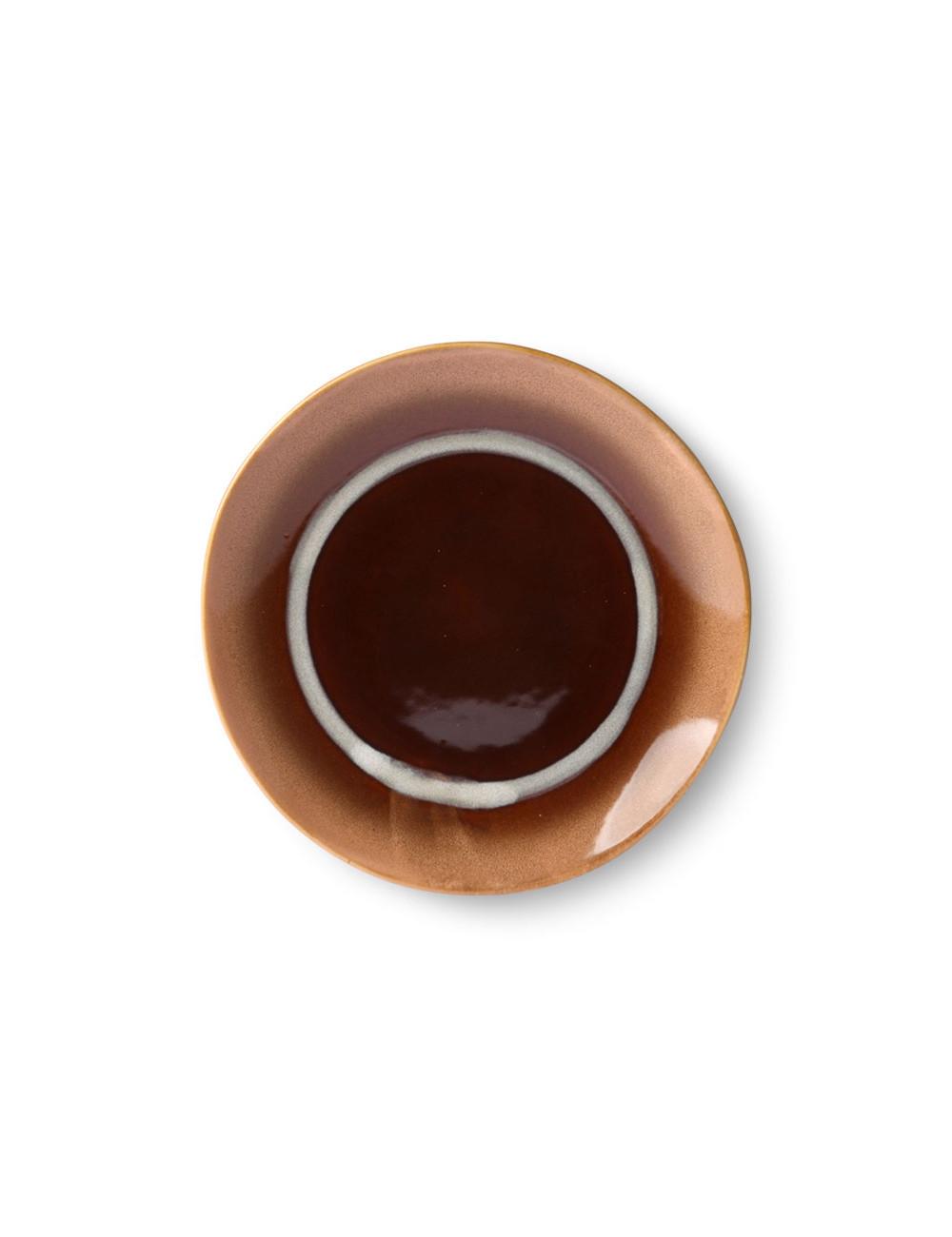 70's Ceramics Dessertbord 17,5cm | tornado