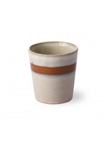 Ceramic 70's Koffiebeker | snow