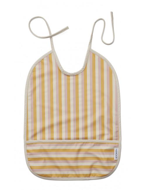 Waterafstotend Slabbetje Lai | peach/sandy/yellow mellow