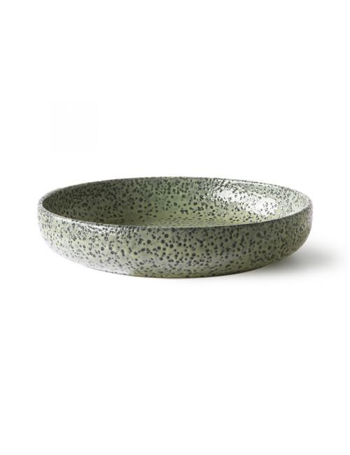 Gradient Ceramics Diep Bord (set van 2) | groen