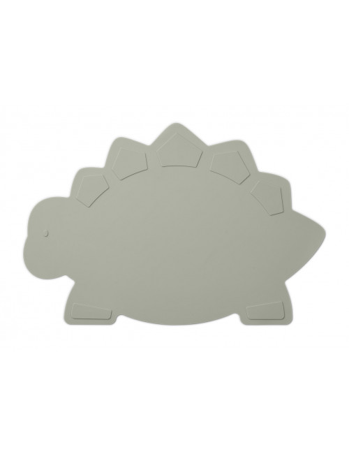 Placemat Tracy | dino dove blue