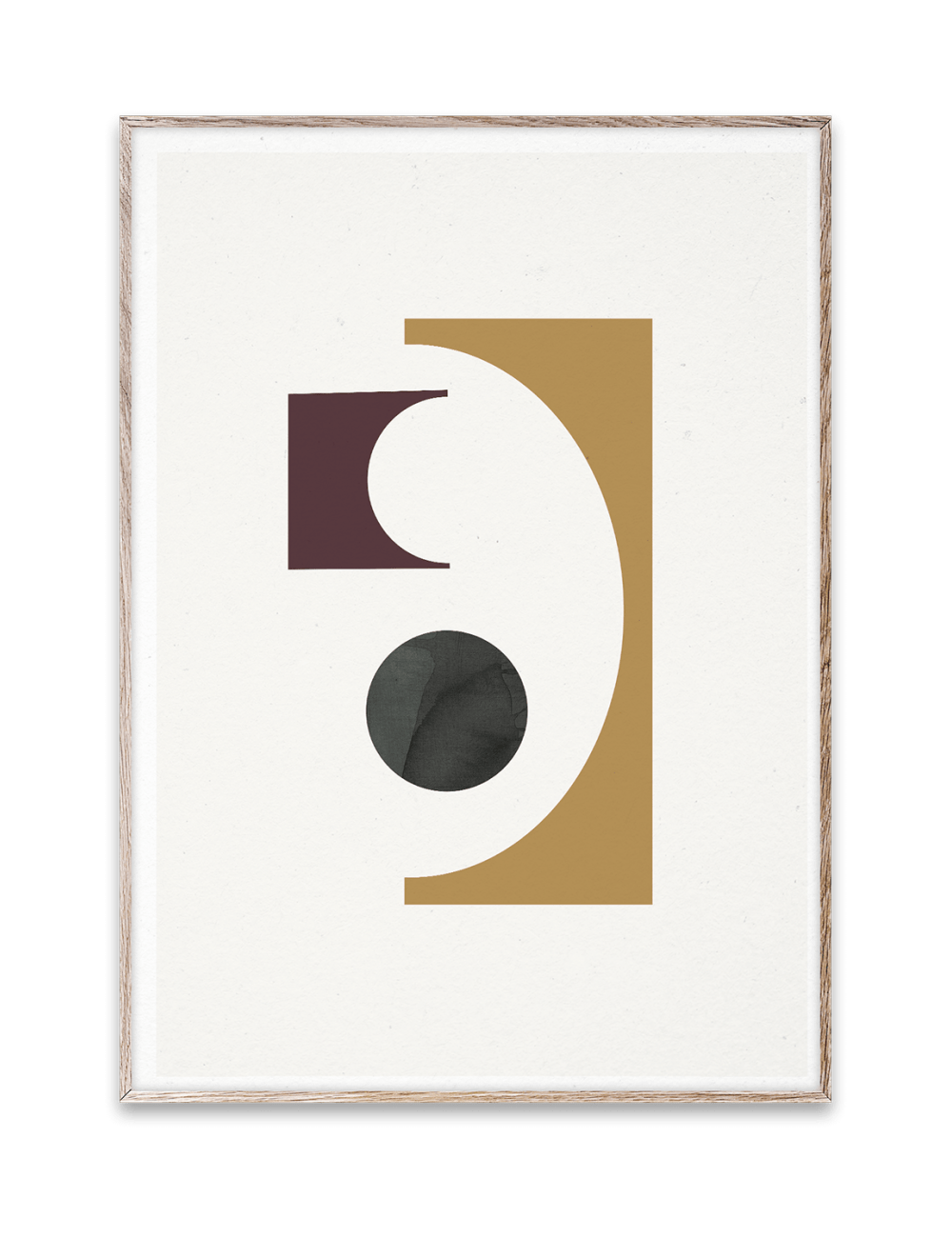 Poster Shapes of Colour 01 by Berit Mogensen Lopez | 50x70cm