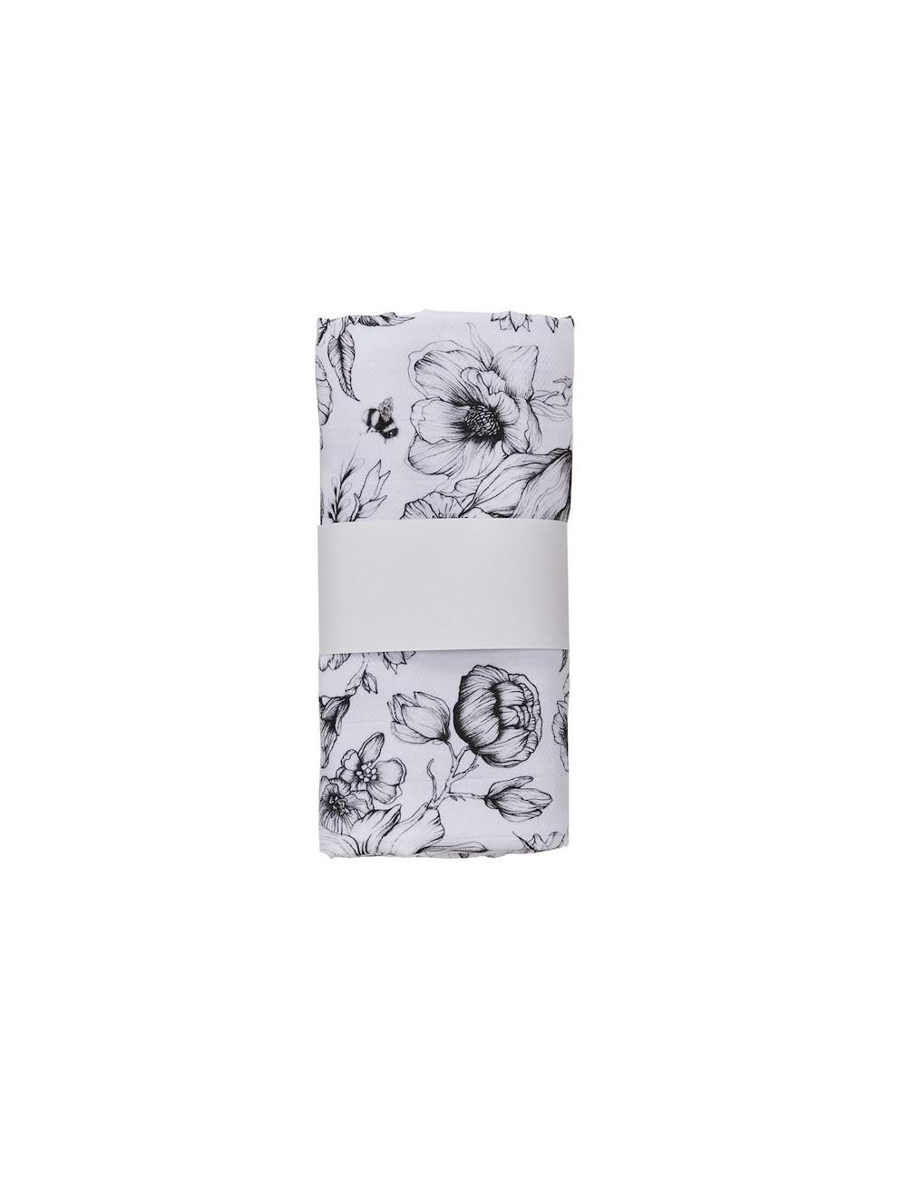 Hydrofiele doek 120 × 120 cm l bumble love