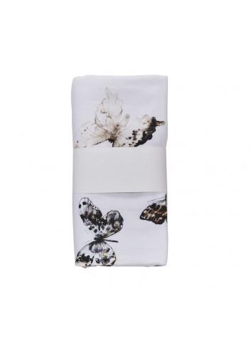 Hydrofiele doek 120 × 120 cm l fika butterfly