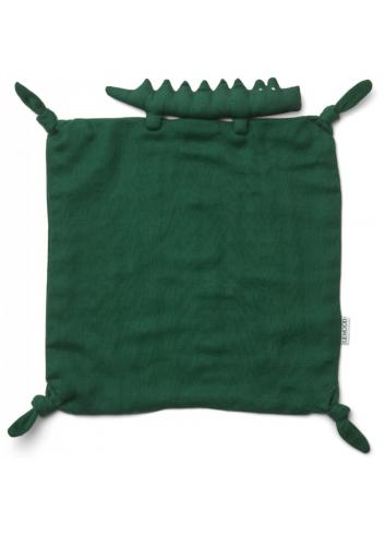 Knuffeldoekje Agnete | krokodil garden green