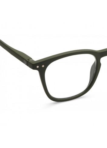 Leesbril E| khaki groen