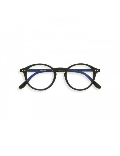 Computerbril D | khaki groen