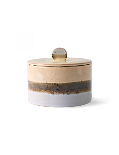 70's Ceramics Cookie Jar | lake