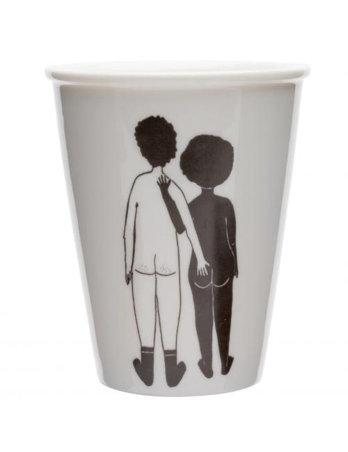 Beker | white man & black woman