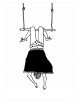 Poster A3 | trapeze girl
