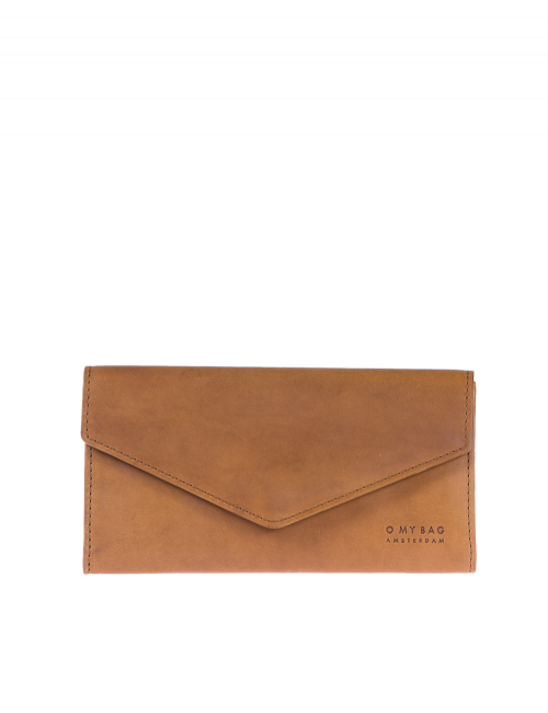 Portemonnee Pixies Envelope | camel classic leather