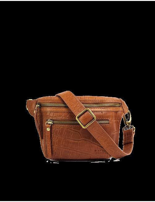 Heuptasje Beck's Bum Bag | cognac croco classic leder