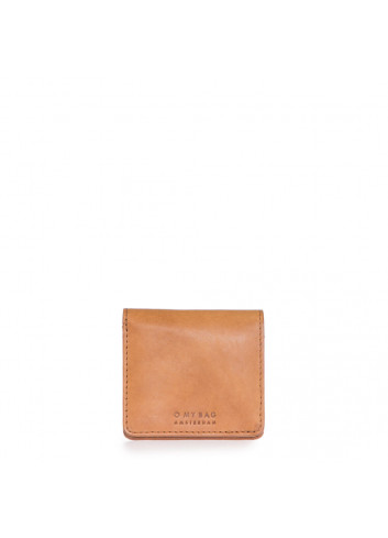 Alex Fold-Over Portemonnee | camel classic leather