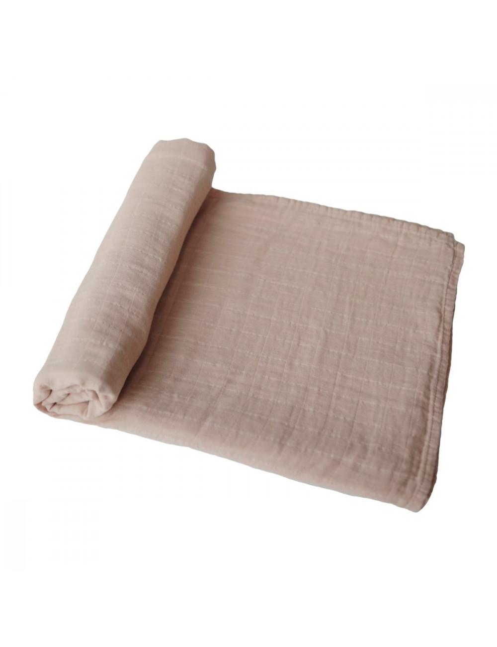 Hydrofiele doek (120x120cm) | pale taupe