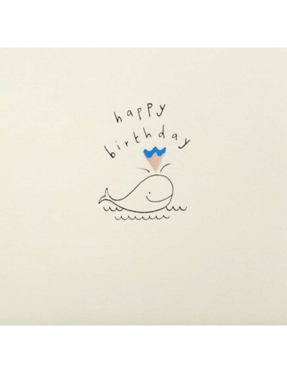 Wenskaart | birthday walvis