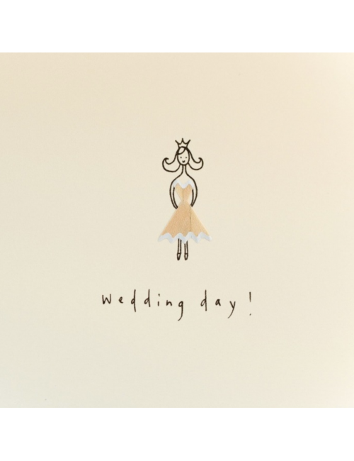 Wenskaart | wedding day