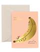 Wenskaart | birthday/banana slide