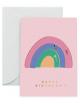 Wenskaart Happy Birthday | rainbow pals