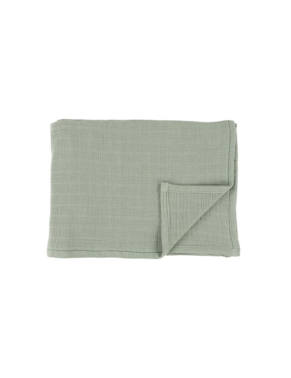 Hydrofiele doek (set van 2) 110x110 cm | bliss olive