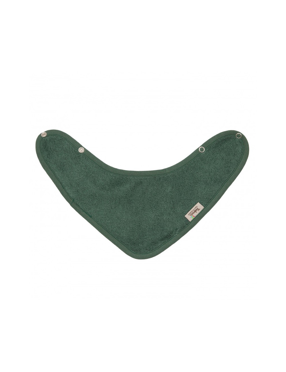 Bandana slab met drukknop | aspen green