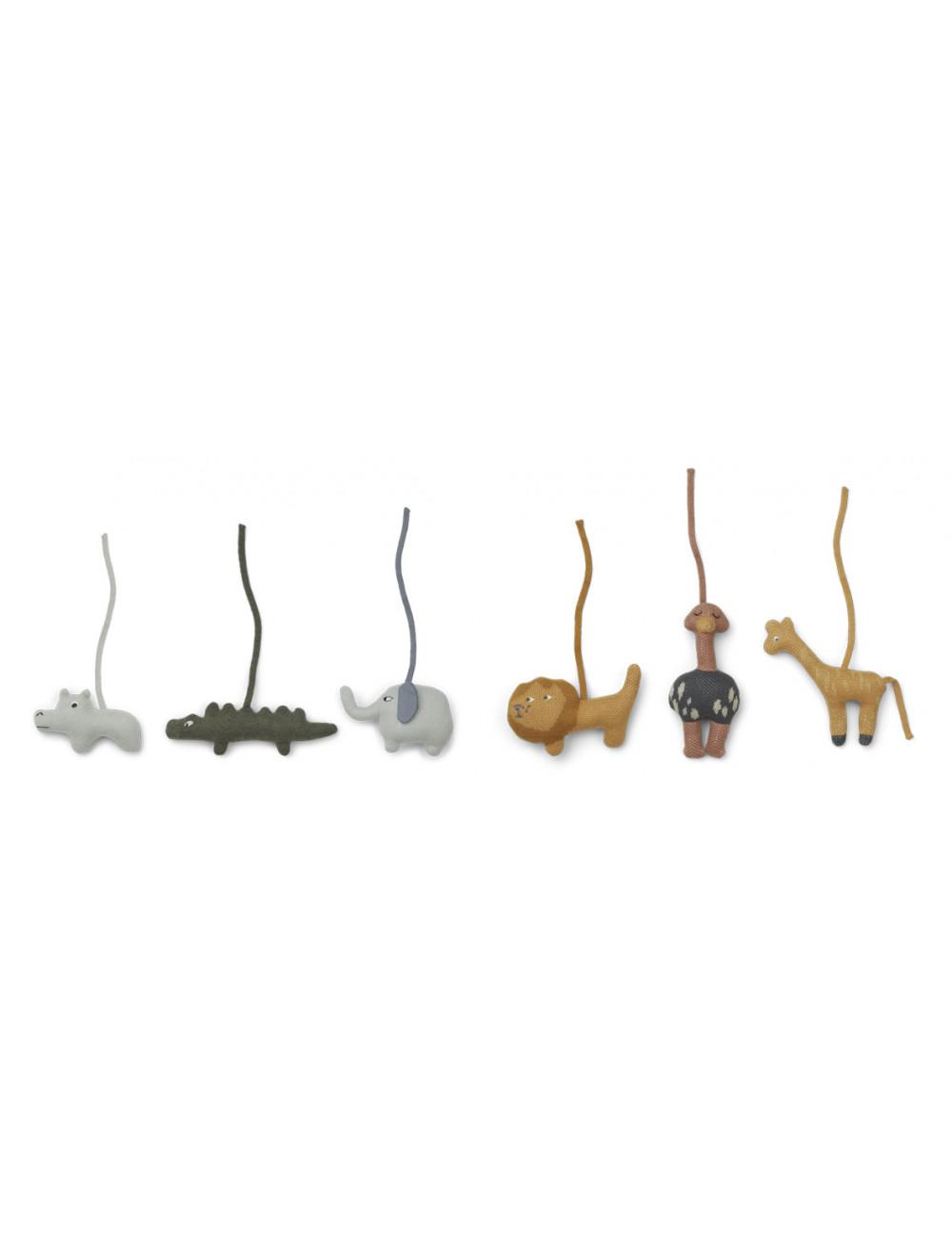 Playgym Accessoires Helmut (set v 6) | safari mix