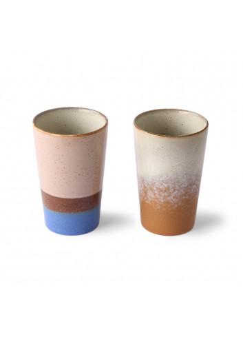 70's Ceramics Thee Tas (set v 2)