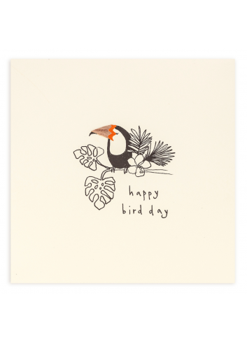 Wenskaart | birthday toucan