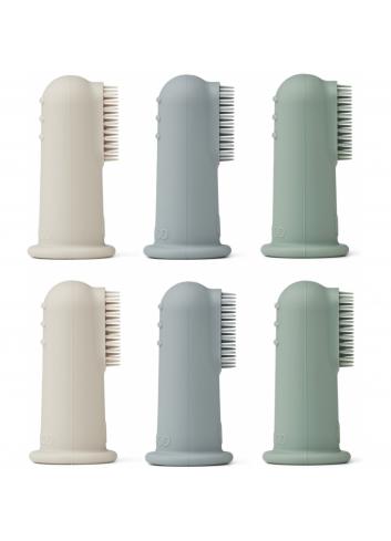 Tandenborsteltjes Simon (set van 6) | peppermint multi mix