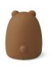 Nachtlampje Winston (oplaadbaar USB) | bear/golden caramel
