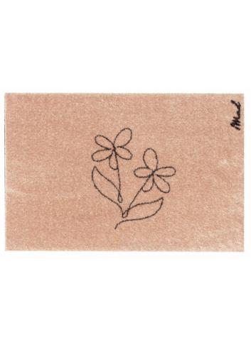 Mat Aimee Touch (indoor)   lijntekening bloemen