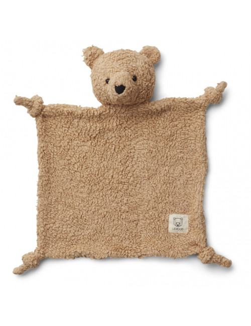 Knuffeldoekje Lotte | beer beige