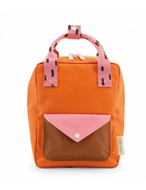 Rugzakje - sprinkles | carrot orange bubbly pink syrup brown