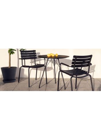Reclips Tuinstoel | zwart