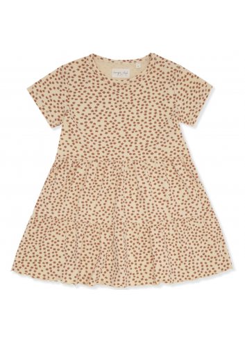 Reya Tee Dress | buttercup rose/6 maanden