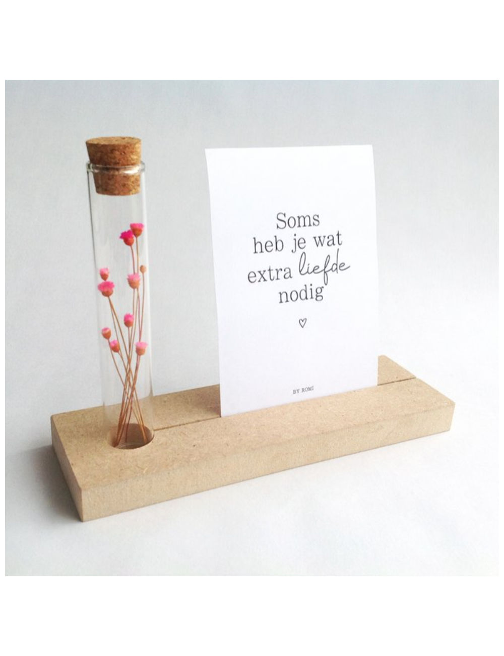 Memory shelf met kaart | soms heb je wat extra liefde nodig