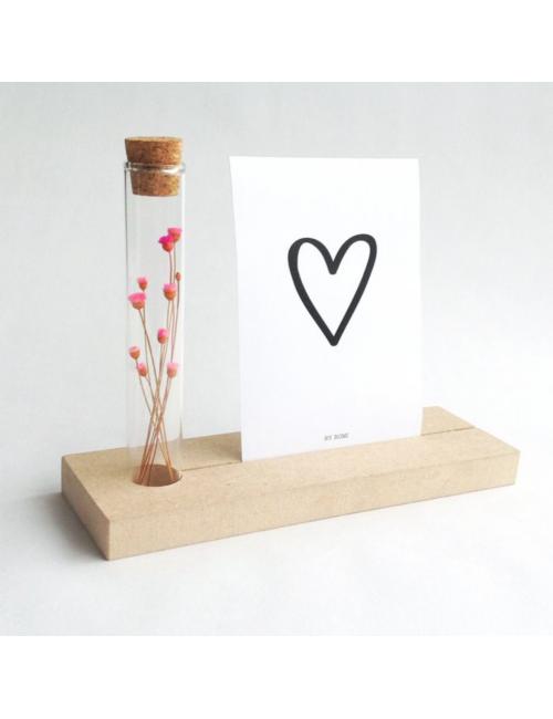 Memory Shelf met kaart | hartje