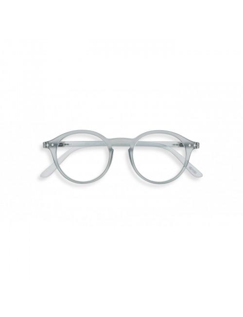 Leesbril D| frosted blue