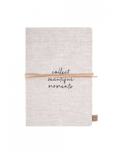 Notitieboek | collect moments/linnen