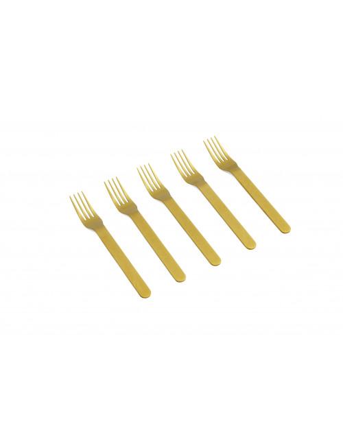 Everyday Vork (set van 5)   goud