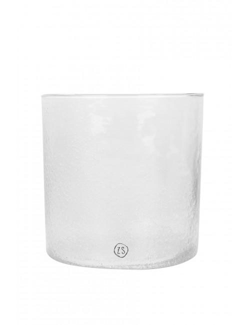 Kaarsenhouder | frosted glas