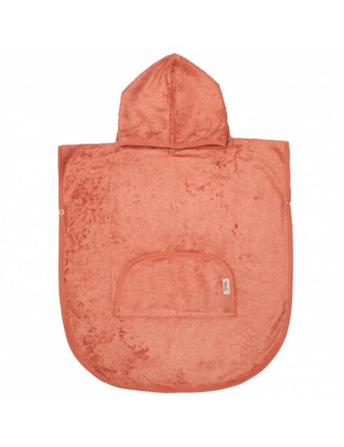 Poncho | apricot blush