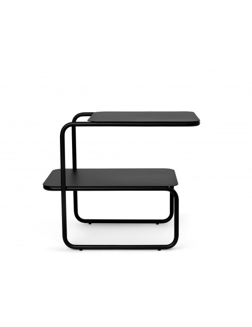 Bijzettafeltje Level Side Table | zwart