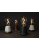 Tafellamp Humble One TL | zwart hout