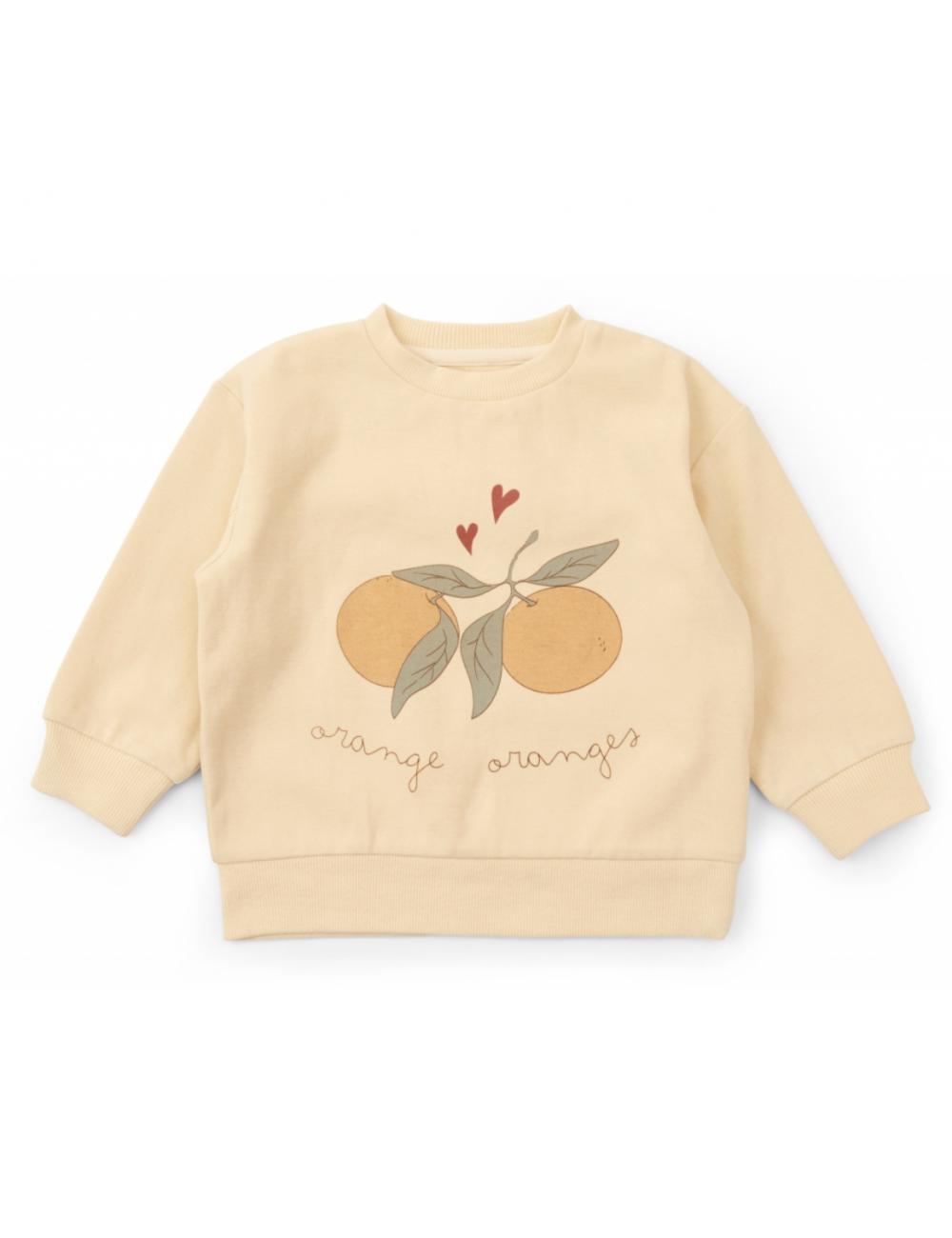 Lou Sweatshirt | apricot